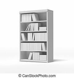 witte , bookshelves