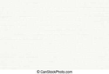 witte , brickwall, oppervlakte