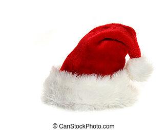 witte , claus, hoedje, kerstman