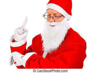 witte , claus, kerstman