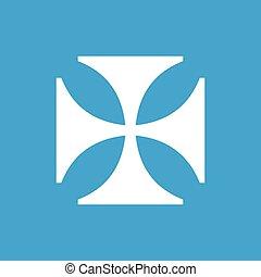 witte , crusaders, pictogram