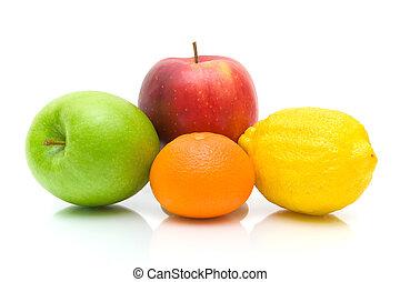 witte , fruit, rijp, achtergrond