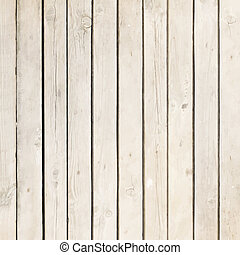 witte , hout, plank, vector, achtergrond