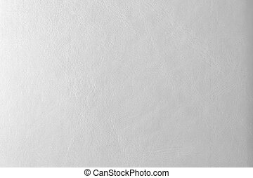 witte , leder, achtergrond, of, textuur