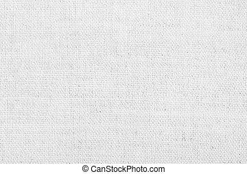 witte , linnen, textuur, voor, de, achtergrond