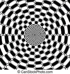 witte , optisch, black , effect