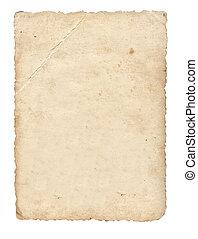 witte , papier, oud, achtergrond