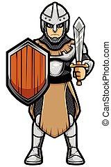 witte , soldaat, middeleeuws