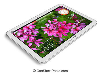 witte , tablet pc