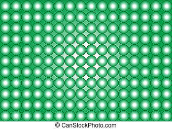 witte , wallpaper-circles-green