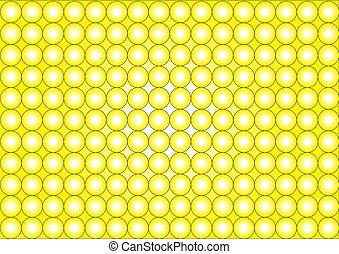 witte , wallpaper-circles-yellow