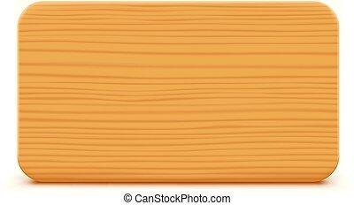 witte , wooden board