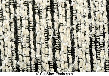 witte , zwarte achtergrond, katoen