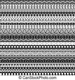 witte , zwarte achtergrond, motieven, afrikaan