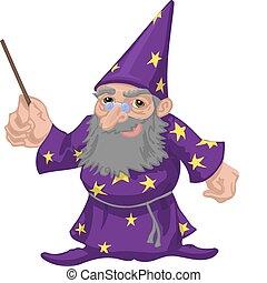 wizard  - A friendly wizard