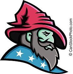 wizard-side-head-mascot