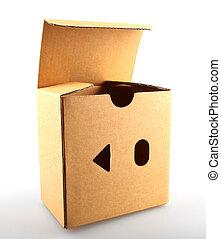 """wizerunek, zewnątrz, box"""", """"think, pojęcie"""