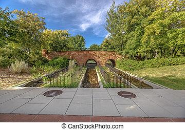 wizje lokalne, od, drogi wodne, i, pieszy most