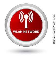 Wlan network prime red round button