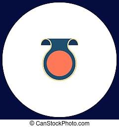 Wobbler computer symbol