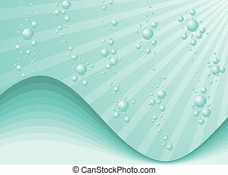 woda, bańki