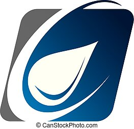 woda, logo, strzałowy