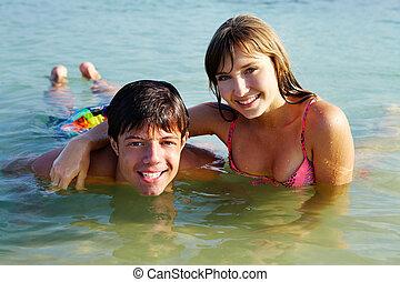woda, nastolatki