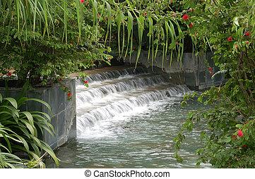 woda ogród, w razie