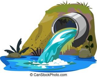woda rurka, przemysłowe skażenie