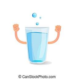 woda, rysunek, siła robocza