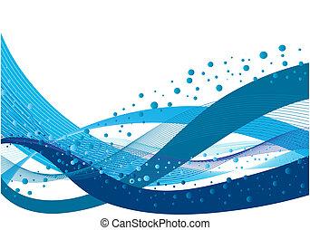 woda, wzory, komplet
