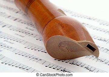 woden flute