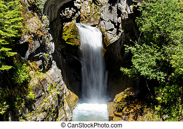 wodospad, w, waszyngton państwowy