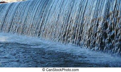 wodospad, zatkać się