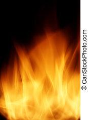 woedend, vuur