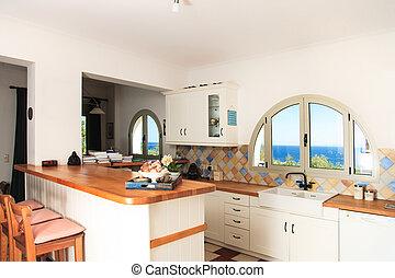 Villa modern luxus kueche for Moderne wohnhauser