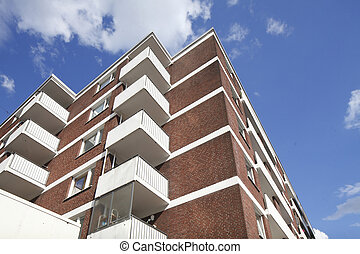 Wohnhaus, Balkone