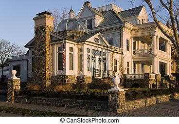wohnsitz, diplomatisch, luxuriös