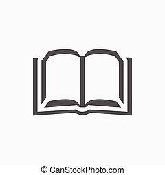 wohnung, abbildung, vektor, design, bestand, buch, ikone