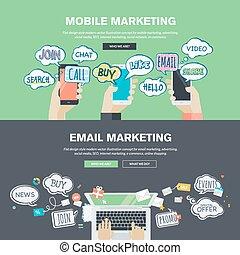 wohnung, begriffe, marketing, design