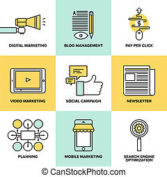wohnung, marketing, digital, werbung, heiligenbilder