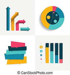 wohnung, satz, elements., farbe, editable., tabellen, ...