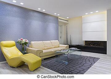 lebensunterhalt hell zimmer marmor wohnzimmer raum stockfotografie bilder und foto. Black Bedroom Furniture Sets. Home Design Ideas