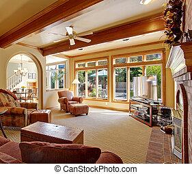 balken decke holz zimmer familie decke zimmer. Black Bedroom Furniture Sets. Home Design Ideas