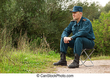 wojskowy, człowiek