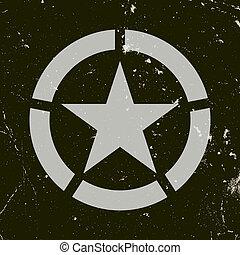 wojskowy, symbol