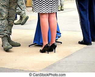 wojskowy, wife.