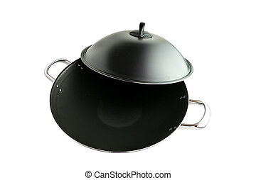 Wok and lid