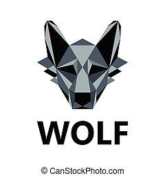 Wolf as logo design