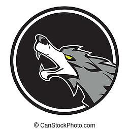 wolf, embleem
